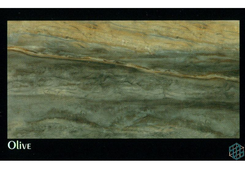 Victoria (Olive) - Wall Tile