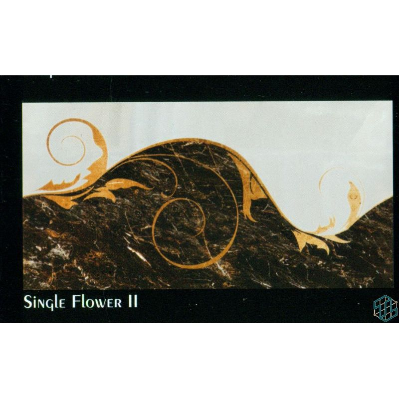 Regency (Single Flower 2) - Wall Tile