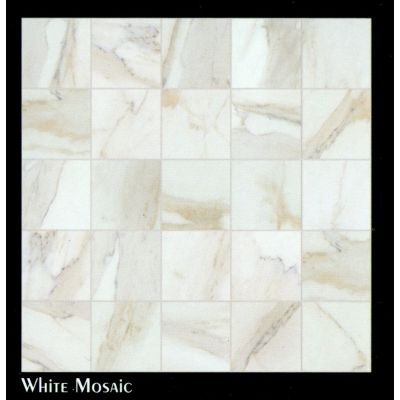 Vendome (White Mosaic) - Floor Tile