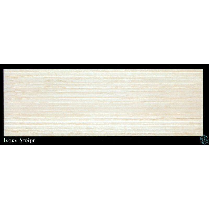 Palmera (Ivory Stripe) - Wall Tile