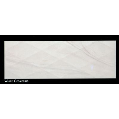 Prestige (White Geometric) - Wall Tile