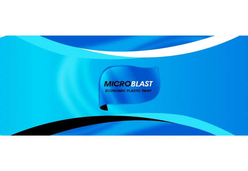 Micro Blast (Economic Plastic Paint)