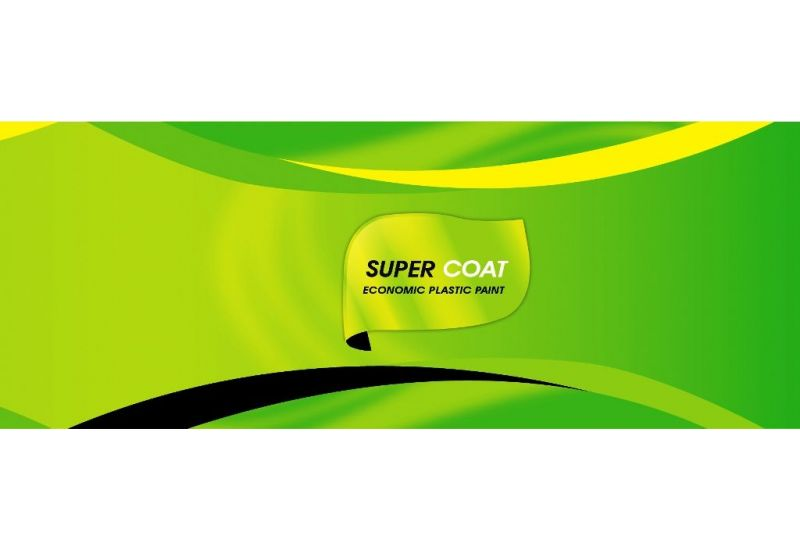 Super Coat (Economic Plastic Paint) 2