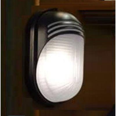 Large Oval Wall Lighting Unit