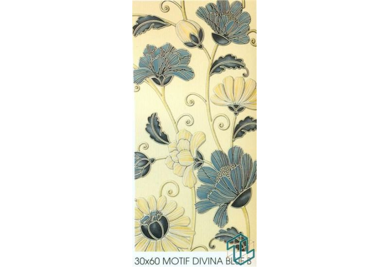 Divina Blue B - Wall Tile