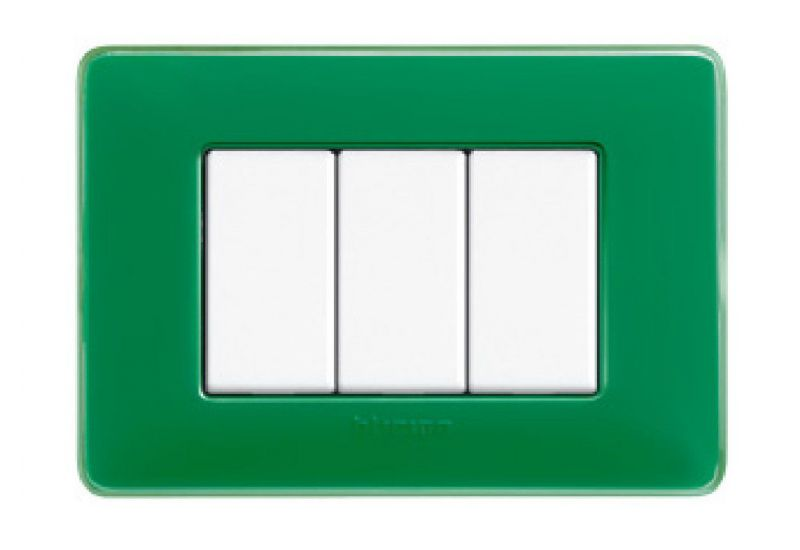 Colours Cover Plates (Emerald)