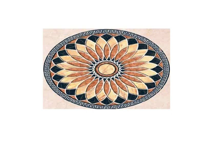 "Ceramic Floor Tile ""Single Carpet 6007"""