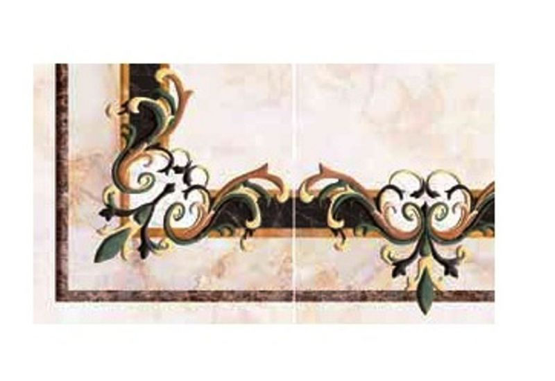 "Ceramic Floor Tile "" Corner Carpet 6011"""