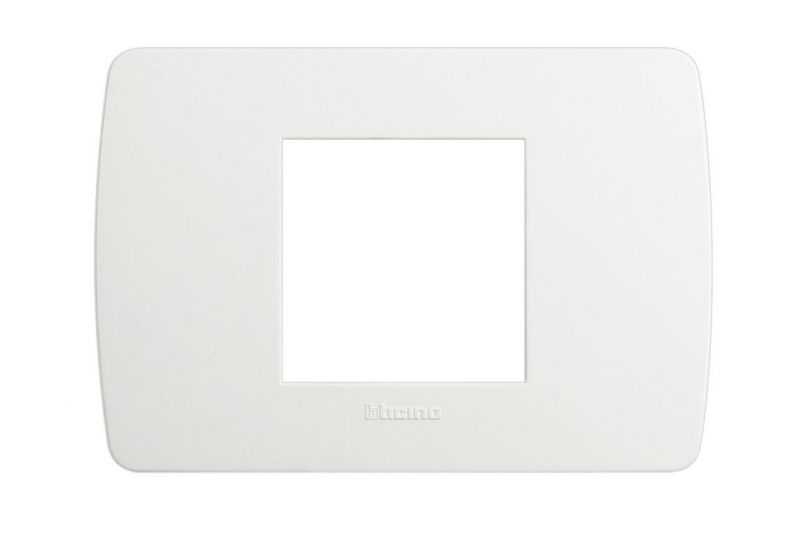 Solida White Cover Plate Two Modules
