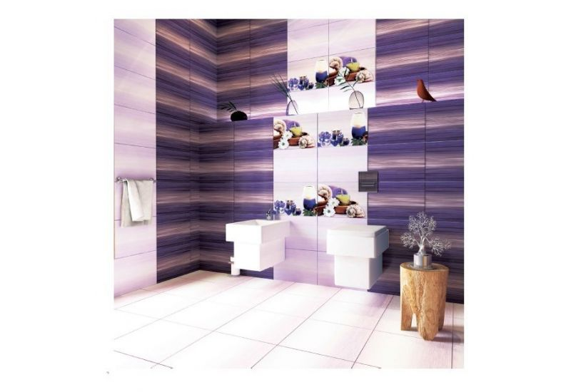 "Ceramic Wall Tiles""IJ 2600 Dark purple """