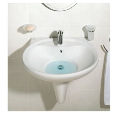 Avance Small Wall pedestal Basin 50 cm