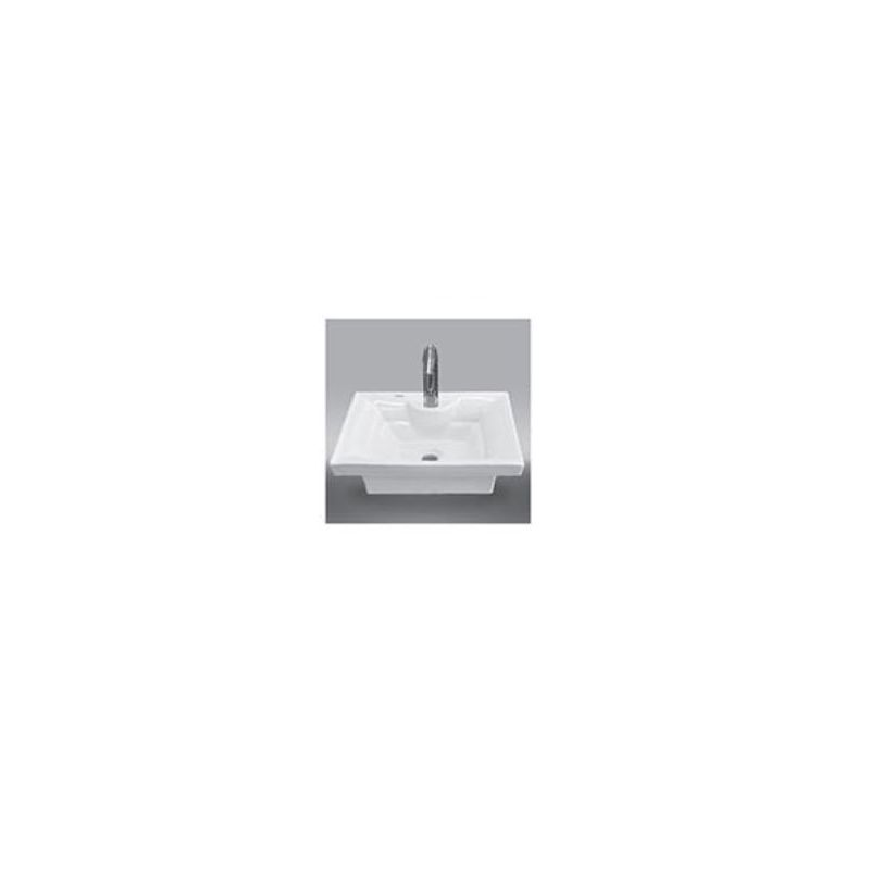 "Square1 ""Lava Above Counter Basin """